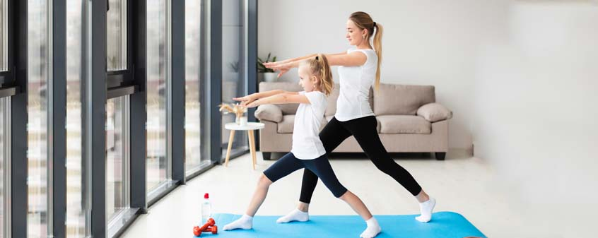 Yoga: The playful way to connect with your child